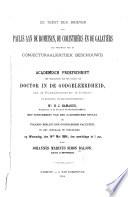 De Tekst Der Brieven Van Paulus Aan De Romeinen De Corinthi Rs En De Galati Rs Als Voorwerp Van De Conjecturaalkritiek Beschouwd