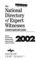 The National Directory Of Expert Witnesses