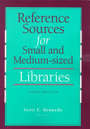 Reference Sources for Small and Medium sized Libraries