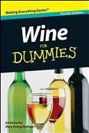 Wine For Dummies Australian Target Edition Book PDF