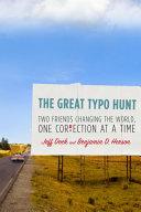 The Great Typo Hunt Pdf/ePub eBook