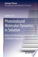Photoinduced Molecular Dynamics in Solution Book