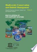Biodiversity Conservation and Habitat Management - Volume II