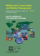 Biodiversity Conservation and Habitat Management   Volume II