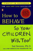 How to Behave So Your Children Will, Too! Pdf/ePub eBook
