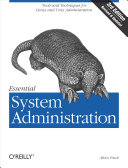 Essential System Administration: Tools and Techniques for Linux and ...