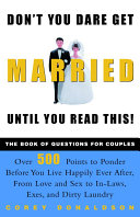 Don't You Dare Get Married Until You Read This! Pdf/ePub eBook