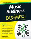 Music Business For Dummies Pdf/ePub eBook