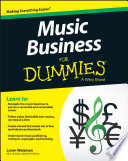 """Music Business For Dummies"" by Loren Weisman"