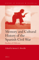 Memory and Cultural History of the Spanish Civil War