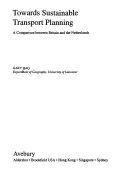 Towards Sustainable Transport Planning