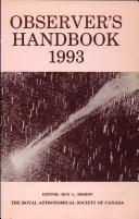 Observer s Handbook