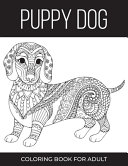 Puppy Dog Coloring Book For Adult PDF