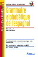 Bordas langues - Grammaire alphabétique de l'espagnol Pdf/ePub eBook