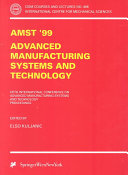 AMST 99   Advanced Manufacturing Systems and Technology Book