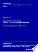 Öffnen Sie das Medium Organisationsentwicklung zwischen Organisation und Profession von Schanne, Sita [Verfasser] im Bibliothekskatalog