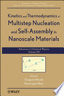 Kinetics and Thermodynamics of Multistep Nucleation and Self Assembly in Nanoscale Materials