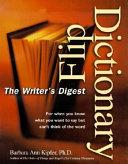 Writer s Digest Flip Dictionary Book