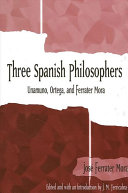 Three Spanish Philosophers