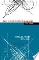 Applied Regression Analysis Book