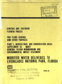 Modified Water Deliveries to Everglades N P   GDM