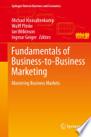 Fundamentals of Business to Business Marketing