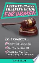 Assertiveness Training Guide For Women Book PDF