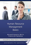 Human Resource Management Basics Microsoft Dynamics 365 For Finance And Operations