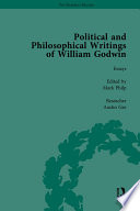 The Political and Philosophical Writings of William Godwin vol 6