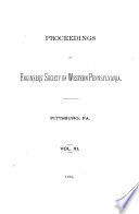 Proceedings of the Engineers  Society of Western Pennsylvania Book