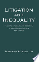 Litigation and Inequality