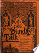 Sunday talk  ed  by C  Church