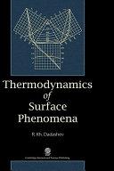 Thermodynamics of Surface Phenomena