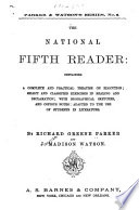 The National Fifth Reader Book