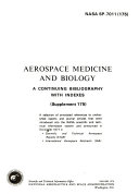 Aerospace Medicine and Biology Book