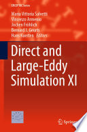 Direct And Large Eddy Simulation Xi Book PDF