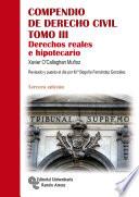 Compendio de Derecho Civil Tomo III. 3ª Edición.