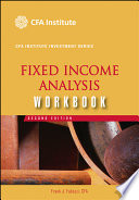 Fixed Income Analysis Workbook Book PDF
