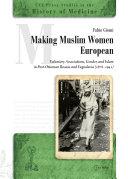 Pdf Making Muslim Women European Telecharger