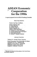 ASEAN Economic Cooperation for the 1990s