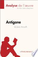 Antigone de Jean Anouilh (Analyse de l'œuvre)