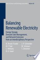 Balancing Renewable Electricity