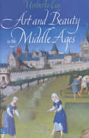 Pdf Art and Beauty in the Middle Ages