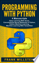 Programming With Python Book PDF