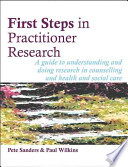 First Steps in Practitioner Research
