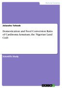 Pdf Domestication and Feed Conversion Ratio of Cardisoma Armatum, the Nigerian Land Crab Telecharger