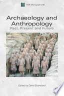 Archaeology And Anthropology Book
