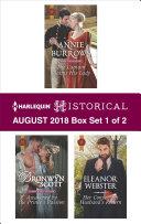 Harlequin Historical August 2018   Box Set 1 of 2