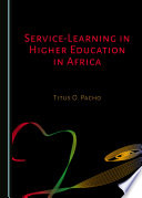 Service Learning In Higher Education In Africa