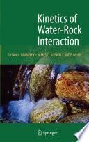 Kinetics Of Water Rock Interaction Book PDF